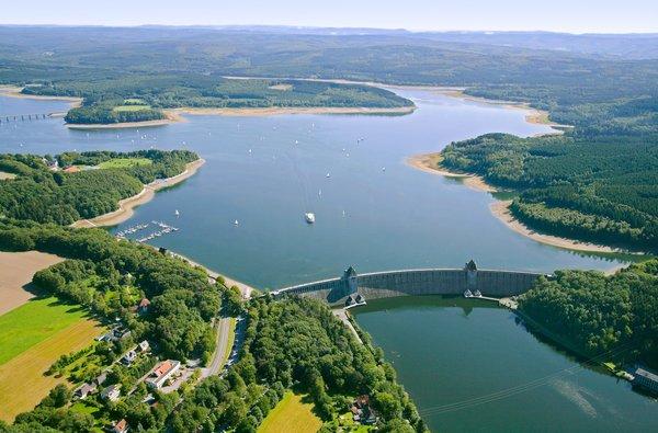 Das der Möhnesee gehört zu den Naturschätzen im Kreis Soest (LIZ)
